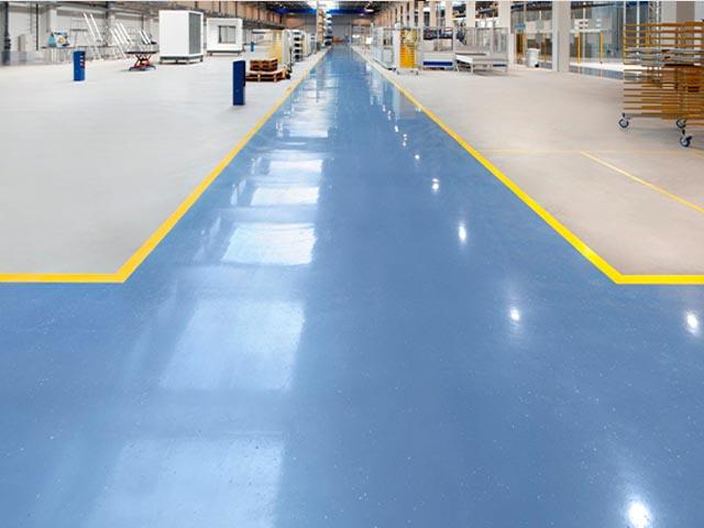 Coating vloer - BVL Gietvloeren