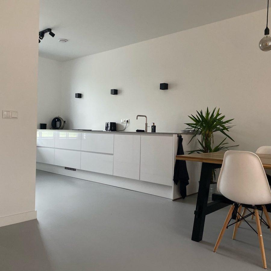 Betonlook gietvloer - BVL Gietvloeren